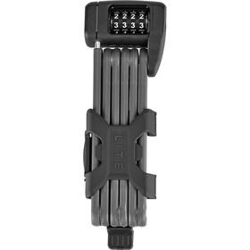 ABUS Bordo Lite 6055C/85 SH Folding Lock, noir